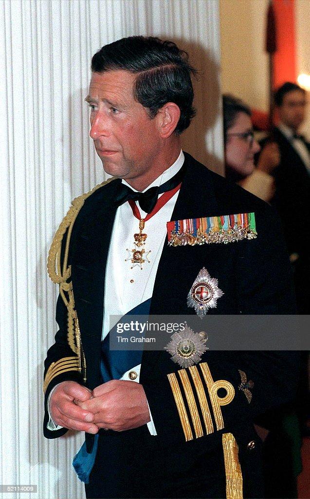 Charles Uniform Banquet : News Photo