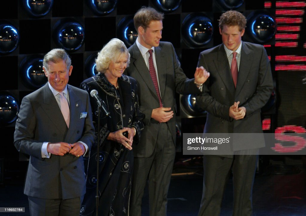 Prince Charles, Camilla Parker-Bowles, Prince William and Prince Harry