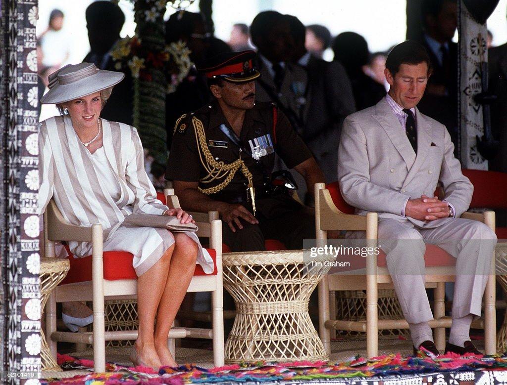 Charles Dozing Fiji : News Photo