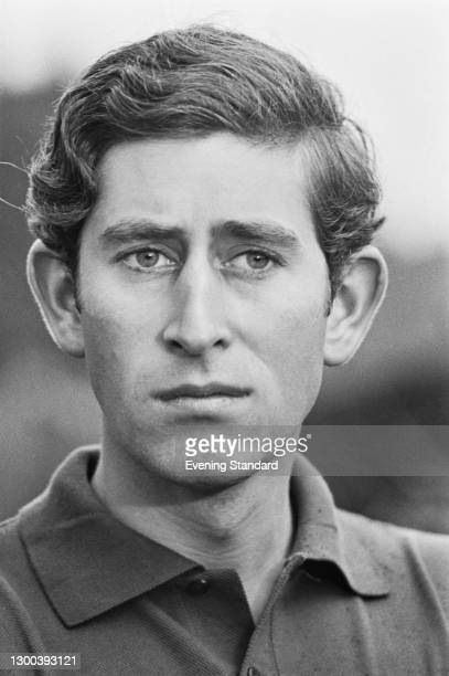 Prince Charles during a polo match at Smith's Lawn in the Guards Polo Club at Windsor, UK, 10th August 1972.