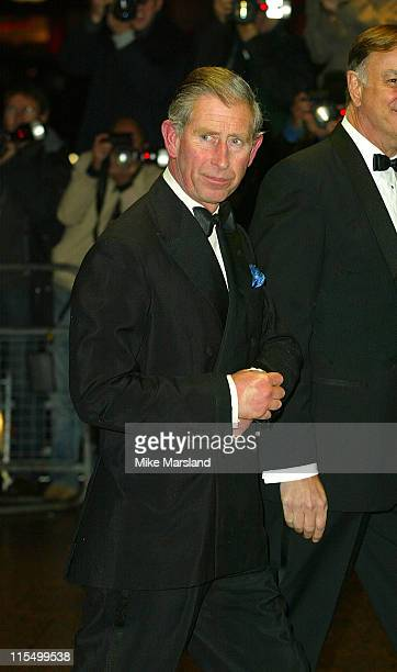 """Prince Charles during """"Master & Commander: Far Side Of The World"""" - 2003 CTBF Royal Film Performance at Odeon Cinema, Leicester Sq in London, Great..."""