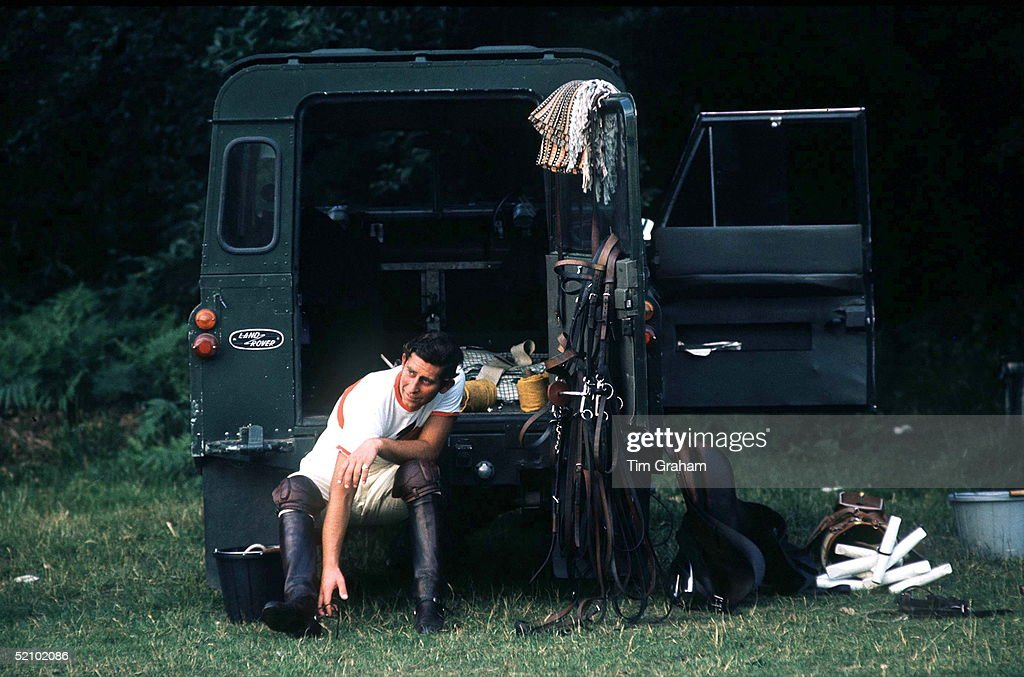 Charles Land Rover : News Photo