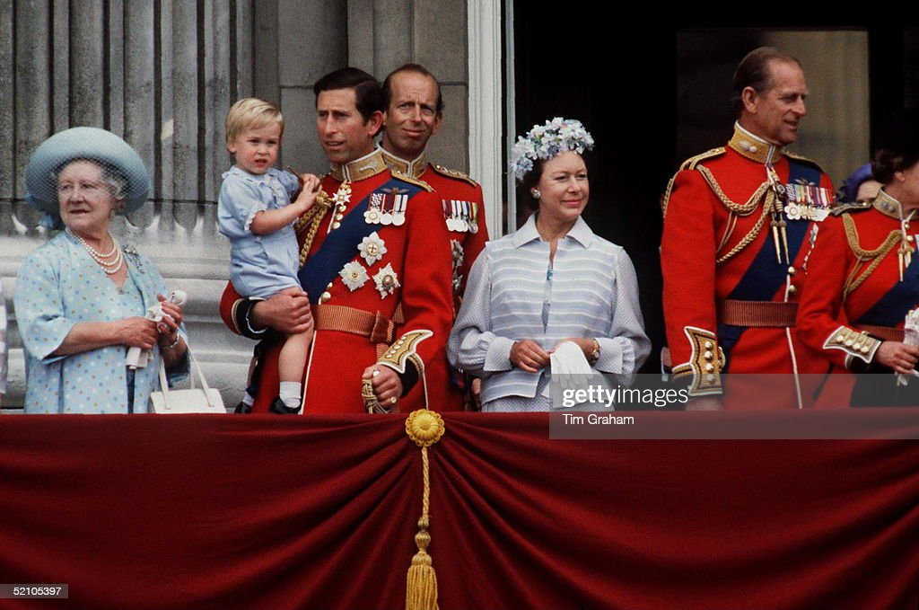 Charles And William Trooping : News Photo