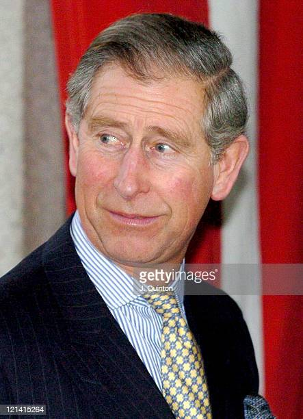 HRH Prince Charles in his capacity as Honorary Member of the Court of Assistants of the Worshipful Company of Goldsmiths Prince Charles meets...