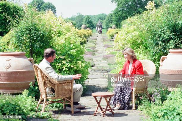 Prince Charles, is interviewed by members of the welsh press, regrading the upcoming 25th anniversary of his Investiture of the Prince of Wales ,...