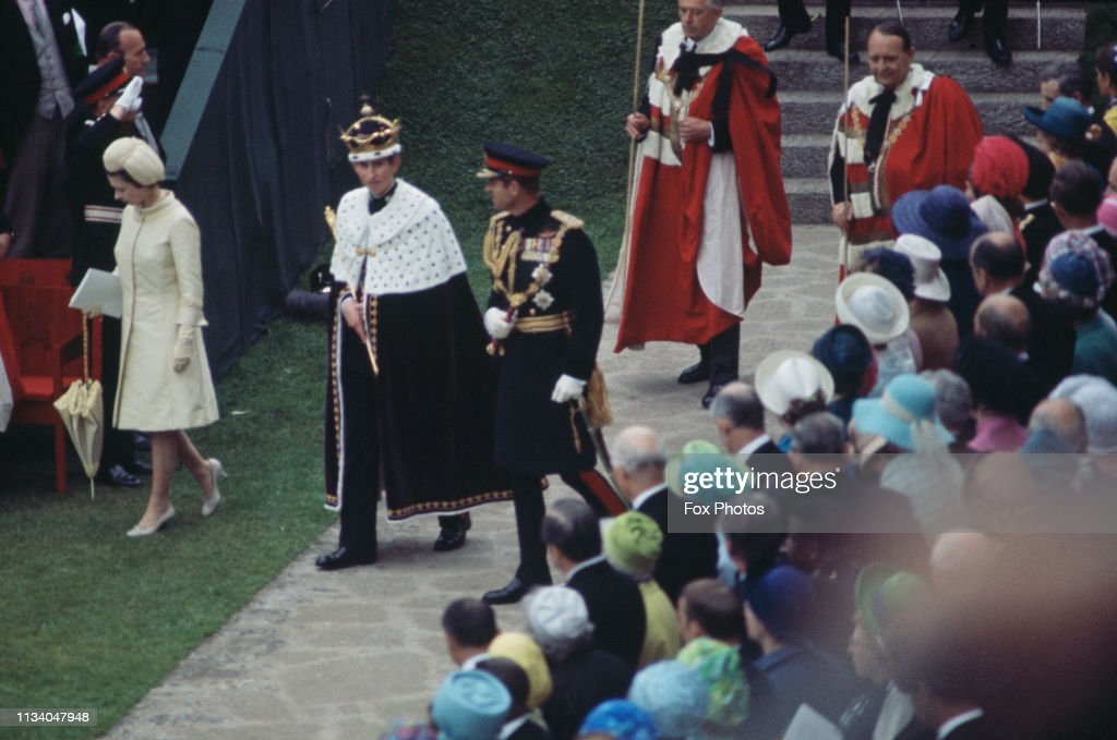 Investiture Of The Prince Of Wales : News Photo