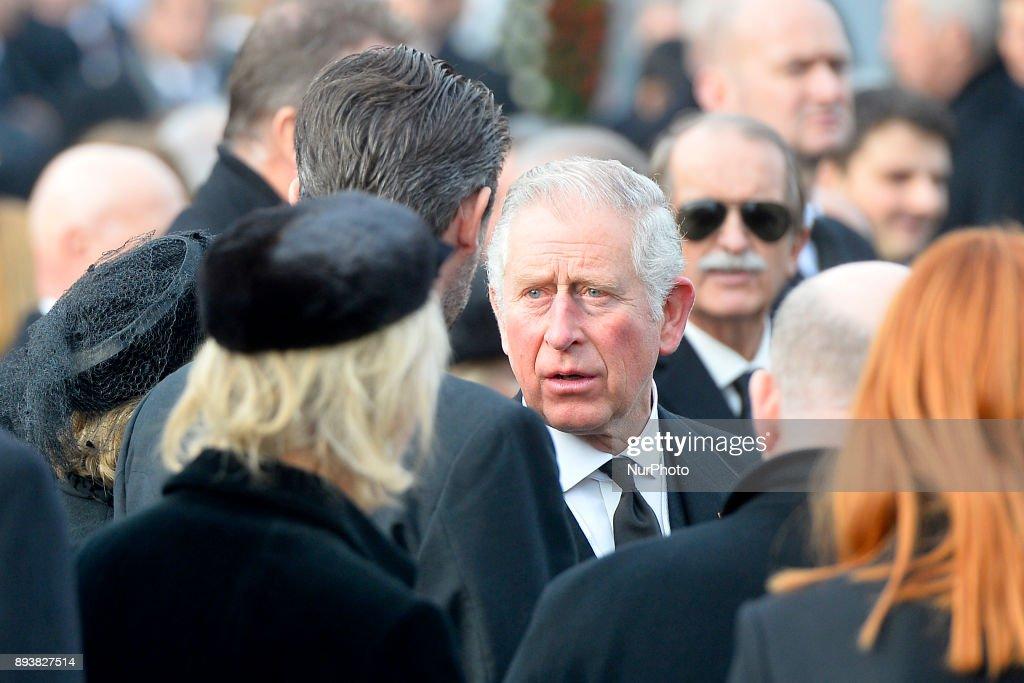 Romania King's Funeral