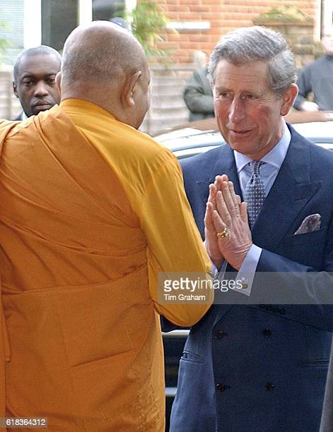 Giving namaste greeting stock photos and pictures getty images prince charles of england gives the traditional namaste greeting as he arrives at the london buddhist m4hsunfo