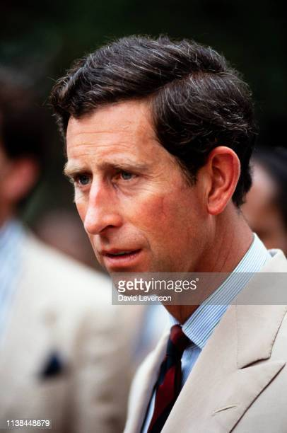 Prince Charles on November 6, 1989 in Jakarta, Indonesia, during the Royal Tour of Indonesia