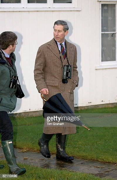 Prince Charles Patron Of The Wildlife Trusts Visiting The Norfolk Wildlife Trust Hickling Broad Norfolk Talking To Brendan Joyce Director Of Norfolk...