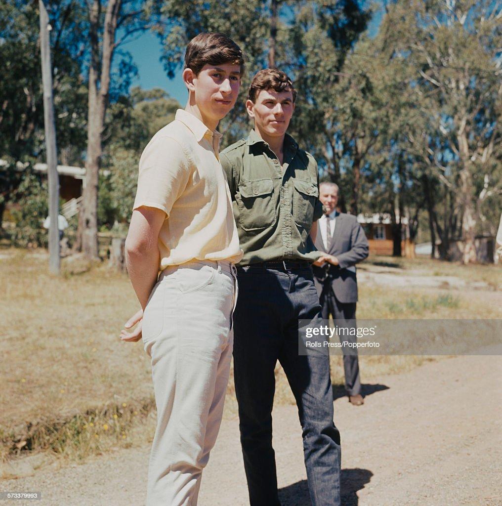 Prince Charles At Geelong School : News Photo