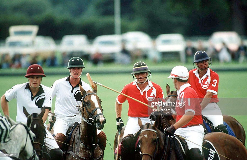 Charles Hewitt Polo : News Photo