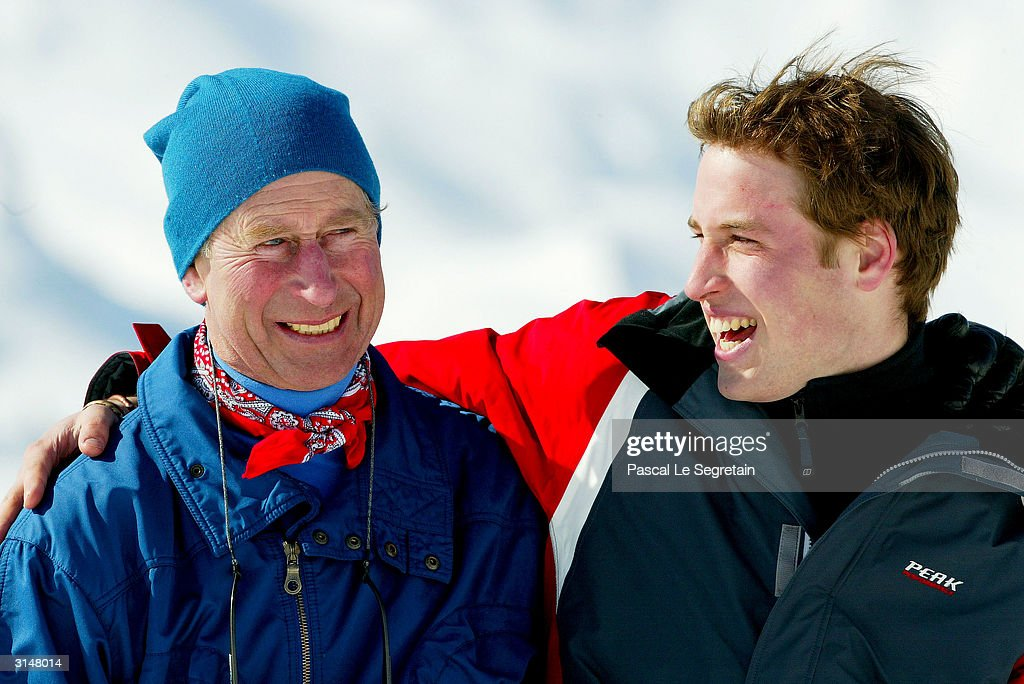 Prince Charles And Family In Klosters : News Photo