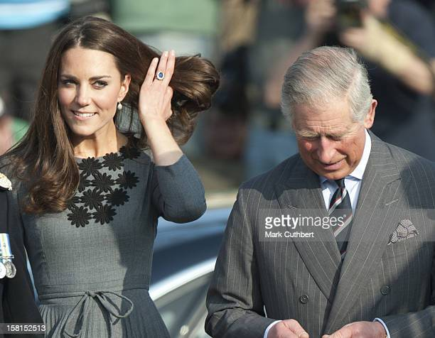 Prince Charles President Of The Prince'S Foundation For Children The Arts And The Duchess Of Cambridge Visit Dulwich Picture Gallery In Dulwich...