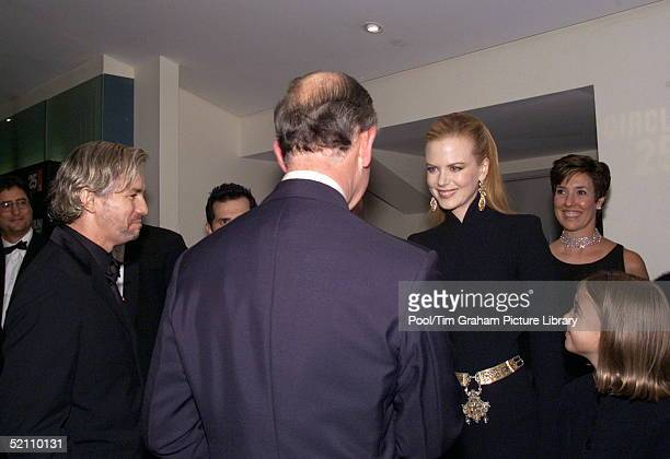 Prince Charles President Of The Prince's Trust Attending The Royal Charity Premiere Of ' Moulin Rouge ' At The Odeon Leicester Square London The...