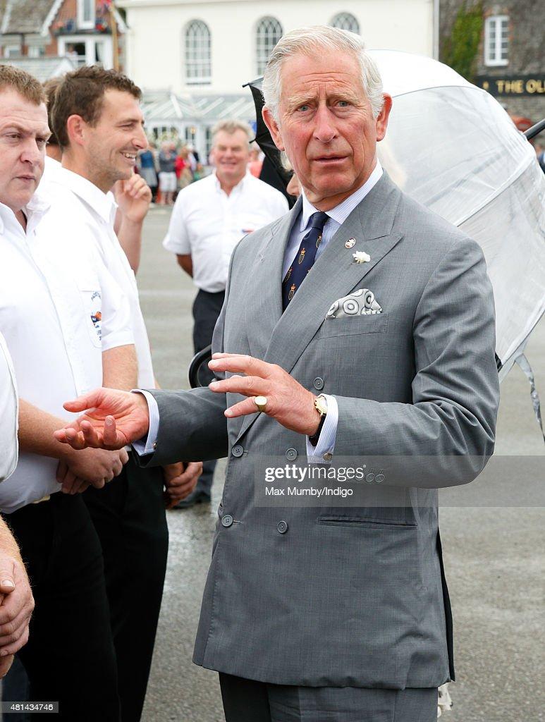 The Duke And Duchess Of Cornwall Visits Cornwall - Day 1 : News Photo