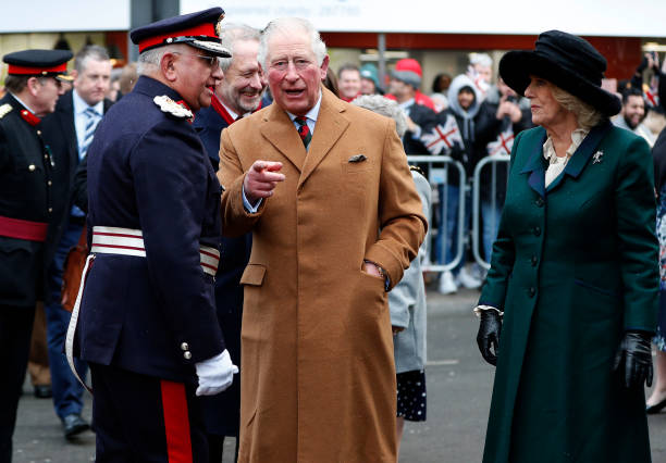 GBR: Prince Of Wales And Duchess Of Cornwall Visit Leicestershire