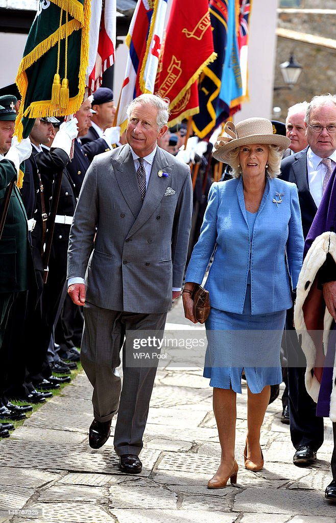The Prince Of Wales And Duchess Of Cornwall Visit The Channel Islands - Day Two : News Photo