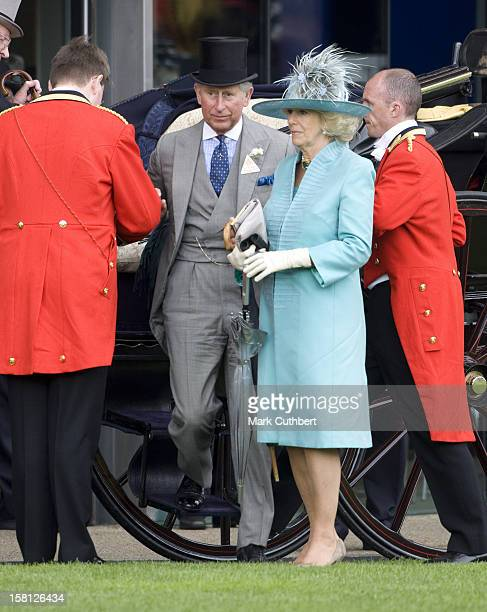 Prince Charles Prince Of Wales And Camilla Duchess Of Cornwall Arrive For Day Two Of Royal Ascot In Berkshire