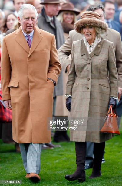 Prince Charles, Prince of Wales and Camilla, Duchess of Cornwall attend The Prince's Countryside Fund Raceday at Ascot Racecourse on November 23,...