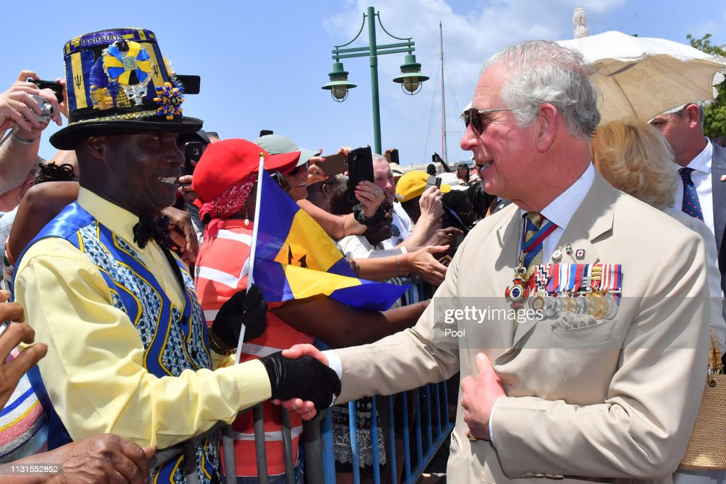 The Prince Of Wales And Duchess Of Cornwall Visit Barbados : News Photo