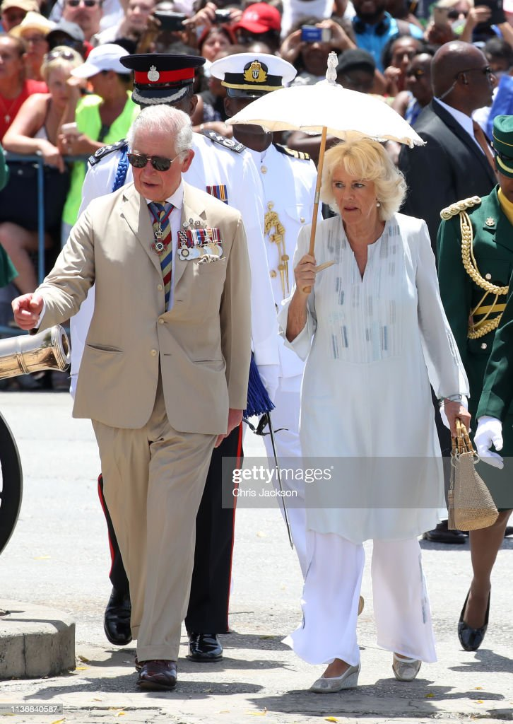 BRB: The Prince Of Wales And Duchess Of Cornwall Visit Barbados