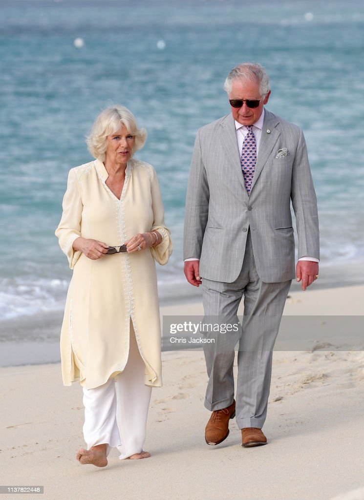 The Prince Of Wales And Duchess Of Cornwall Visit Grenada : News Photo