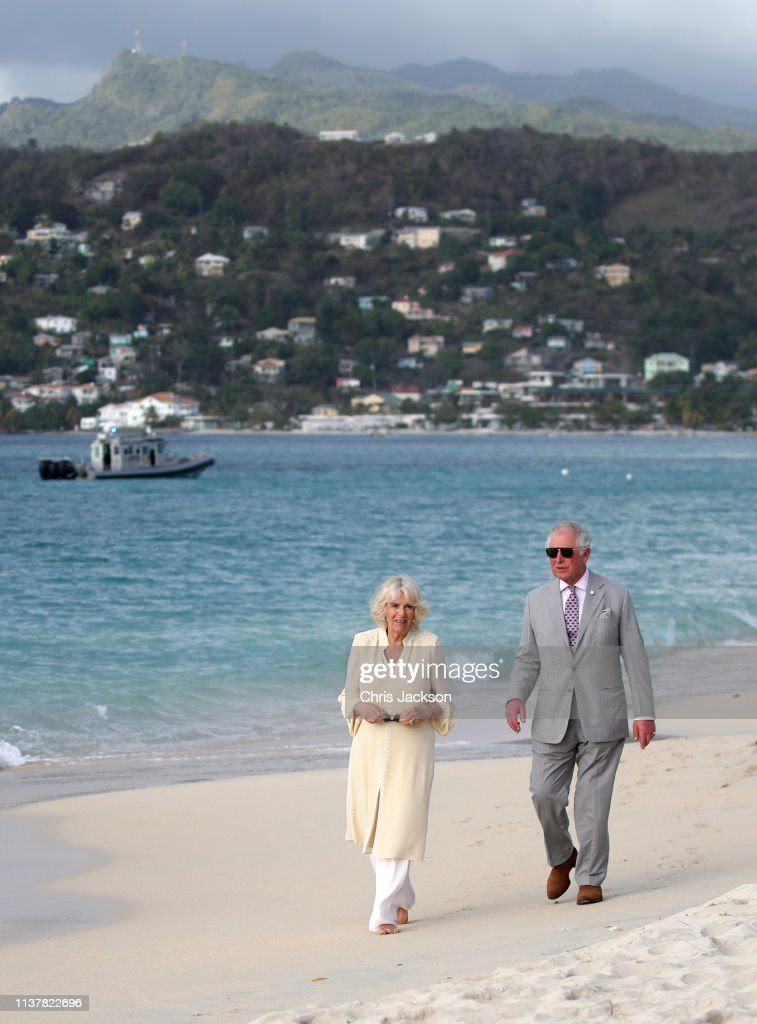 GRD: The Prince Of Wales And Duchess Of Cornwall Visit Grenada