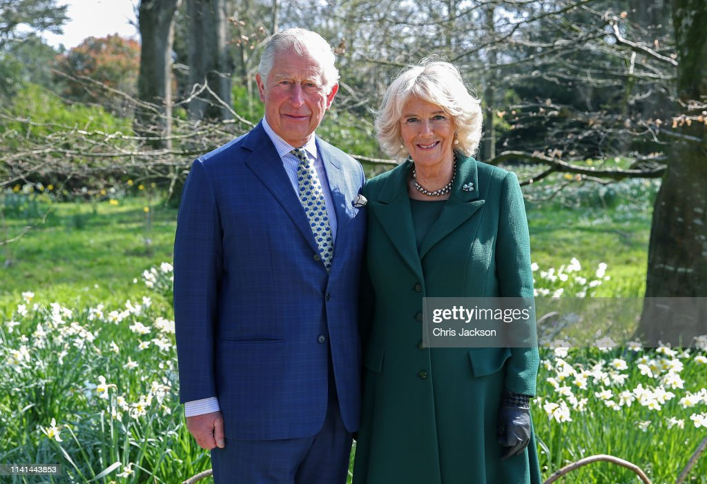 GBR: The Prince Of Wales And Duchess Of Cornwall Attend The Reopening Of Hillsborough Castle & Gardens