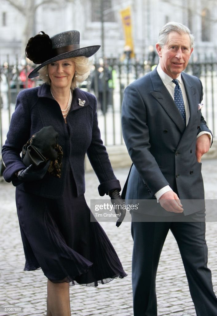 Prince Charles, Prince of Wales and Camilla, Duchess of Cornwall attend a Commonwealth Day Observance service at Westminster Abbey on March 13, 2006 in London, England.