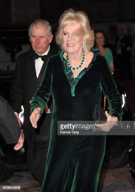 Prince Charles Prince of Wales and Camilla Duchess of Cornwall attend a reception and dinner for supporters of The British Asian Trust on February 2...