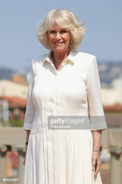 Prince Charles, Prince of Wales and Camilla, Duchess of Cornwall attend an event for the Italian Wool Industry and the Prince of Wales's Campaign for...
