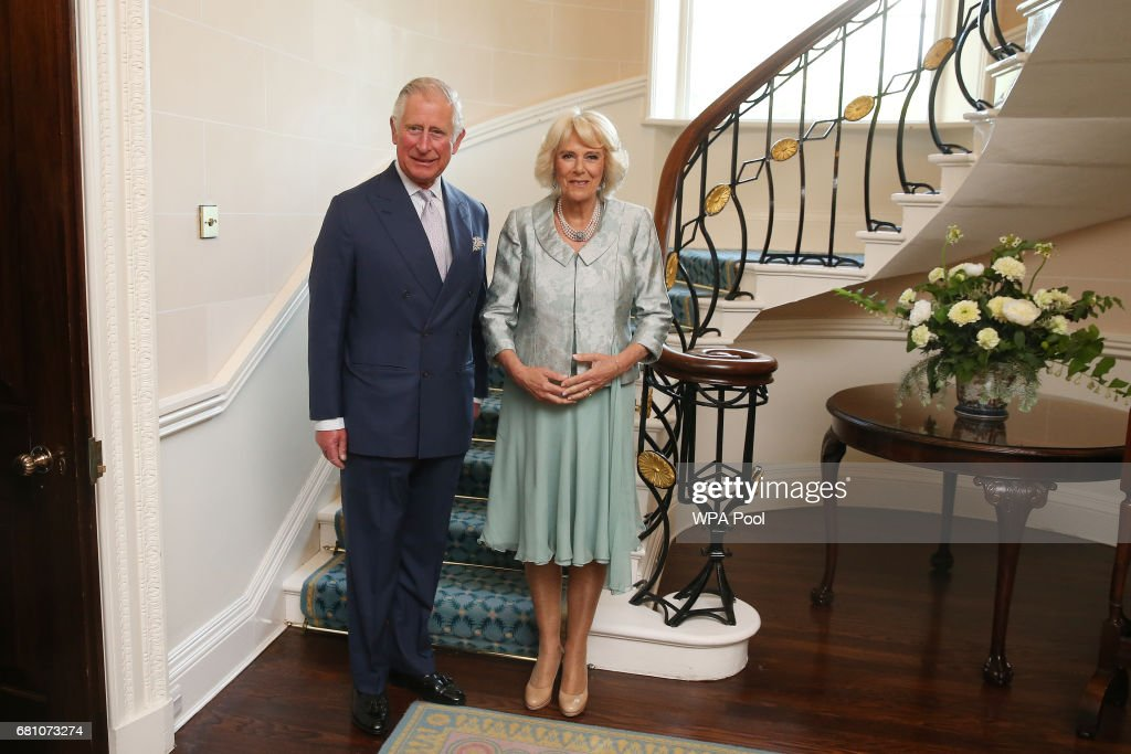 Prince Charles, Prince of Wales and Camilla, Duchess of Cornwall attend a Music & Words for a Spring Evening at Hillsborough Castle during their visit to Northern Ireland on May 9, 2017 in Hillsborough, County Down, Northern Ireland.