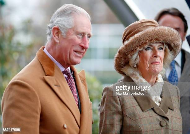 Prince Charles Prince of Wales and Camilla Duchess of Cornwall attend The Prince's Countryside Fund Raceday at Ascot Racecourse on November 24 2017...