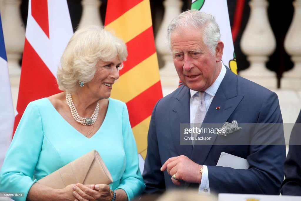 Prince Of Wales And Duchess Of Cornwall Visit Greece : News Photo