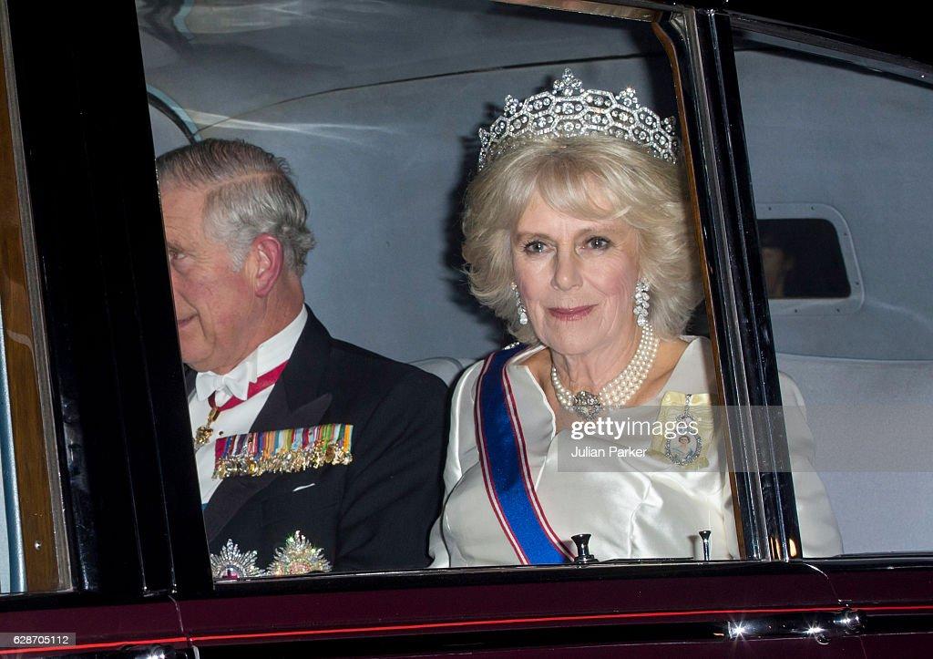 Diplomatic Reception At Buckingham Palace : News Photo