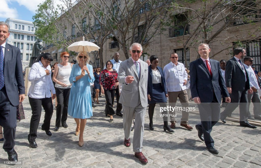 The Prince Of Wales And Duchess Of Cornwall Visit Cuba : News Photo