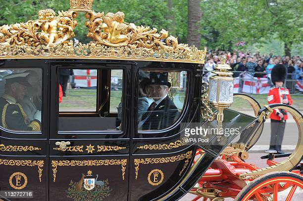 858742164cd8f Prince Charles Prince of Wales and Camilla Duchess of Cornwall make the  journey by carriage procession