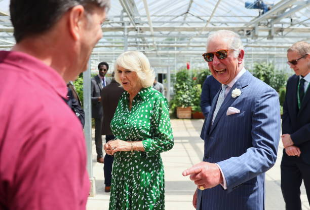GBR: The Prince Of Wales And The Duchess Of Cornwall Visit Hyde Park