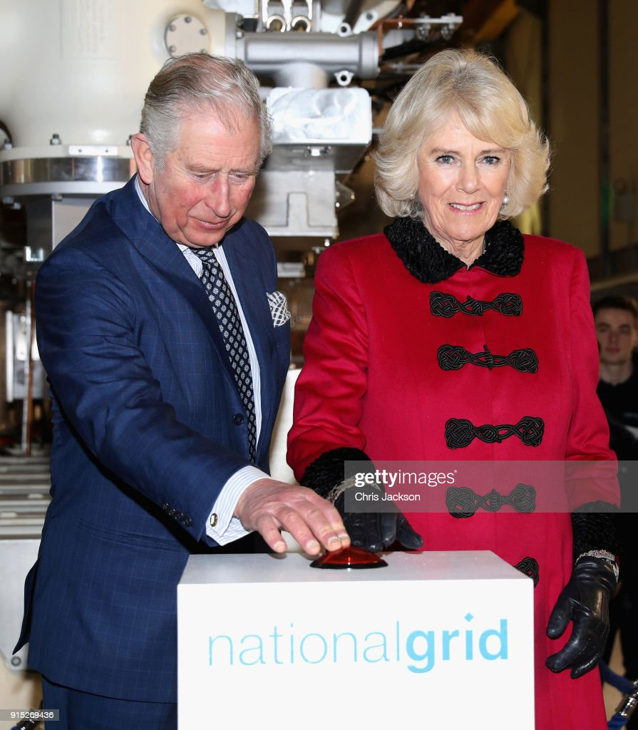 The Prince Of Wales And The Duchess Cornwall Open The London Power Tunnels Project
