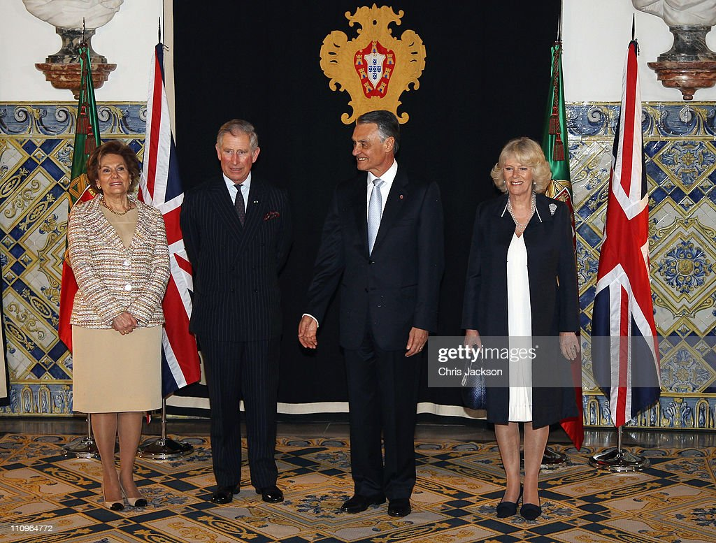 Prince Charles And Camilla, Duchess Of Cornwall Visit Portugal - Day 1