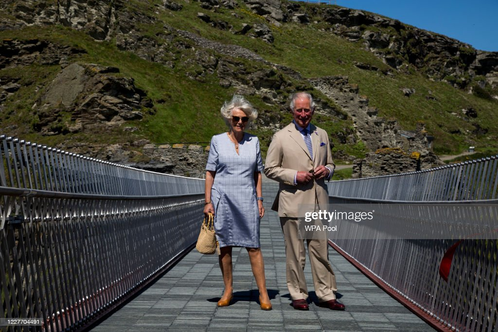 The Duke And The Duchess Of Cornwall Undertake Engagements In Devon And Cornwall - Day One : News Photo