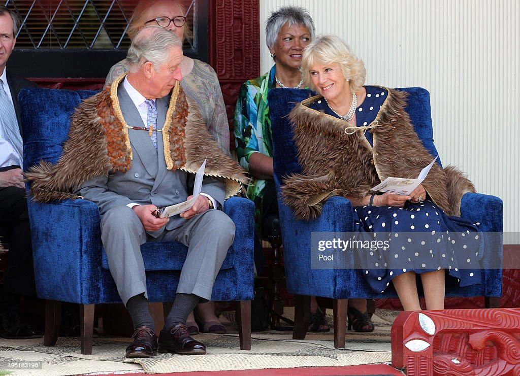 The Prince Of Wales & Duchess Of Cornwall Visit New Zealand - Day 5 : News Photo