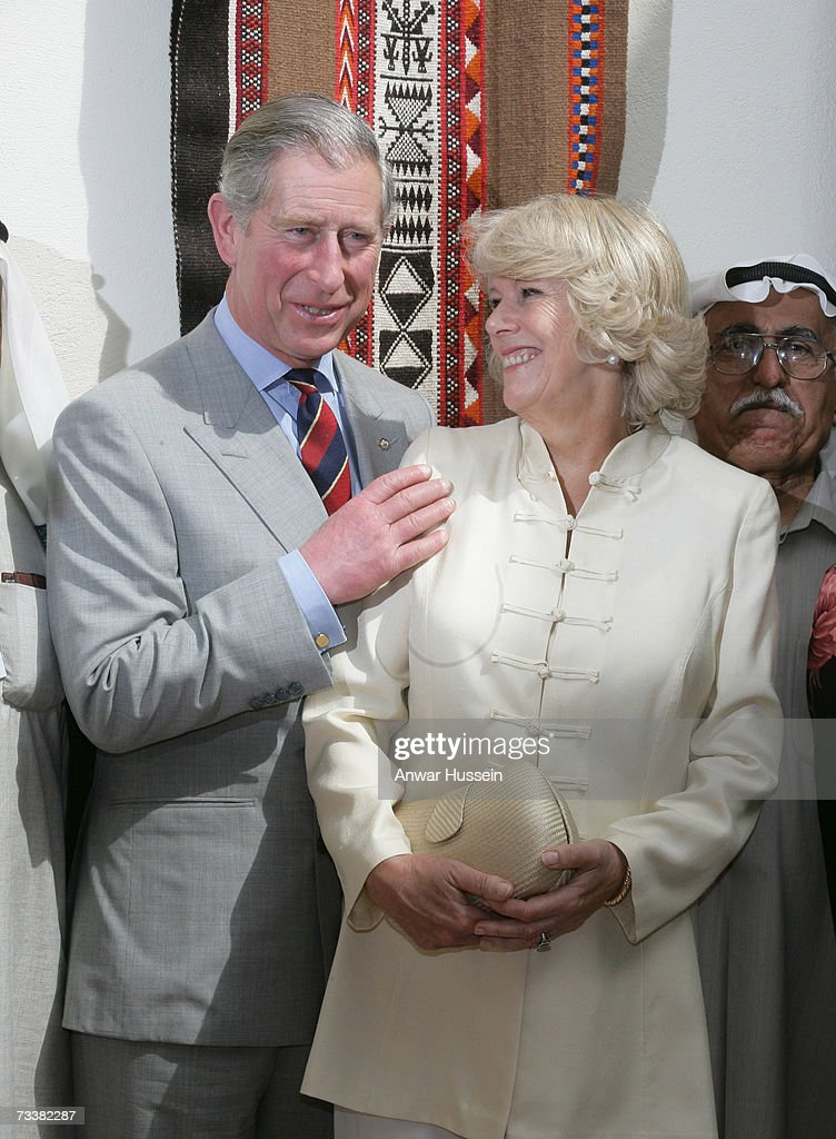 THR The Prince Of Wales And The Duchess Of Cornwall Visit Kuwait : Photo d'actualité