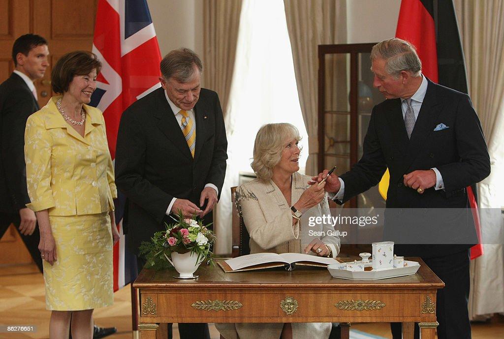 Prince Charles And Camilla Visit Berlin Day 1 : News Photo