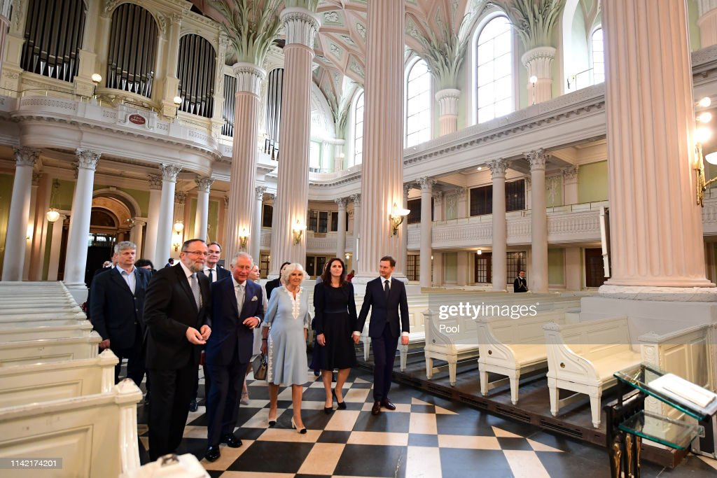 The Prince Of Wales And Duchess Of Cornwall Visit Germany - Day 2 - Leipzig : News Photo