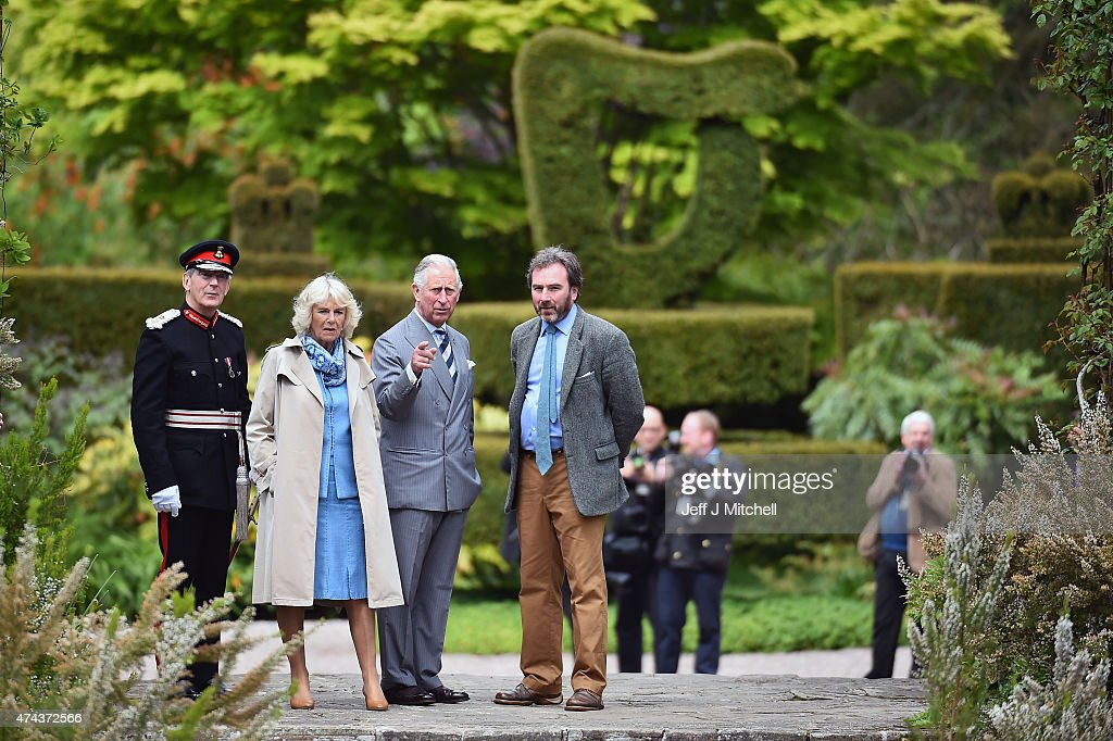 Prince Charles, Prince of Wales and Camilla, Duchess of Cornwall visit Mount Stewart on May 22, 2015 in Newtownards, Northern Ireland. Prince Charles, Prince of Wales and Camilla, Duchess of Cornwall visited Mount Stewart House and Gardens and Northern Ireland's oldest peace and reconciliation centre Corrymeela on the final day of their visit of Ireland.