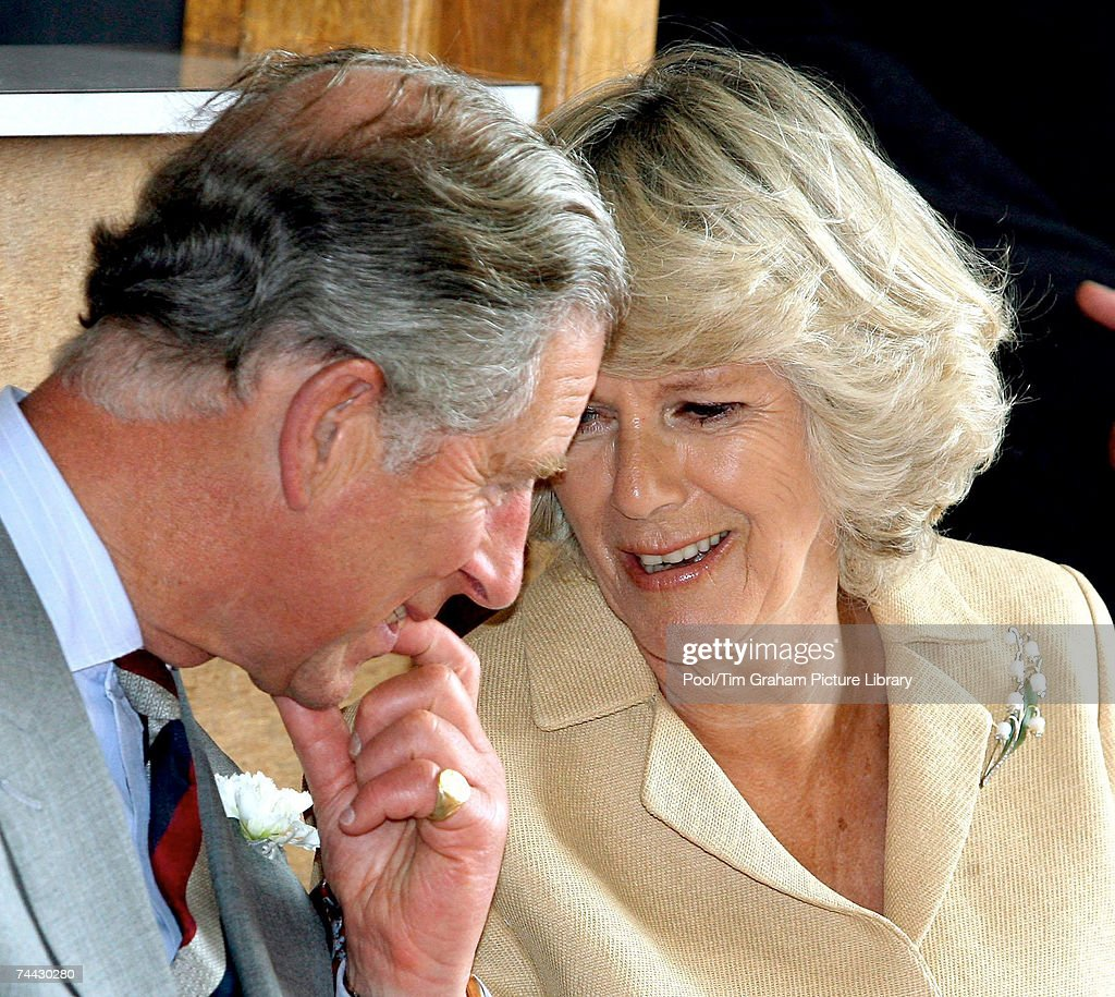 Prince Charles, Prince of Wales and Camilla, Duchess of Cornwall visit a Communities First projects in the village of Ysradgynlais on June 6, 2007 in Powys, Wales.