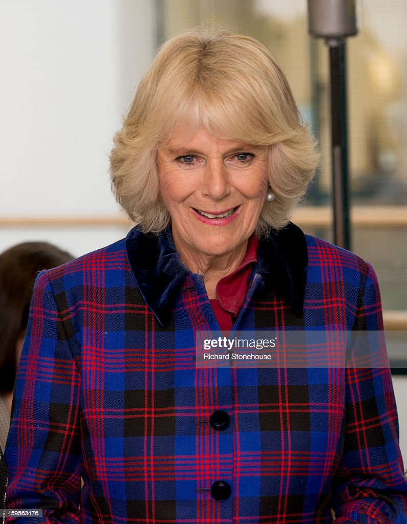 Prince Charles, Prince of Wales and Camilla, Duchess of Cornwall visits the Birmingham University School of Jewellery on November 25, 2014 in Birmingham, England.