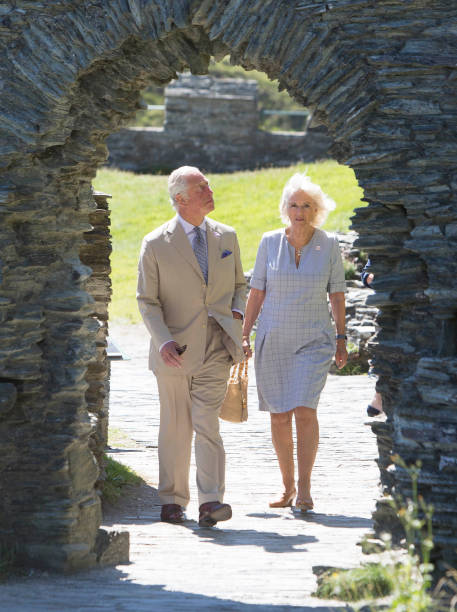 GBR: The Duke And The Duchess Of Cornwall Undertake Engagements In Devon And Cornwall - Day One